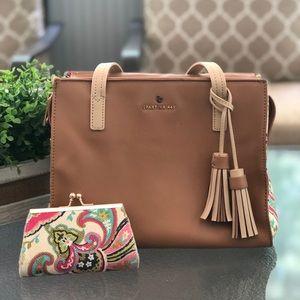 Spartina Handbag with matching change purse